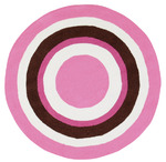 Surya Playground PLY-6032 Pink/White Closeout Area Rug - Fall 2012