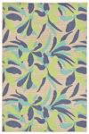 Trans-Ocean Playa 1350/33 Flower Cool Closeout Area Rug