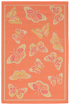 Trans-Ocean Playa 1363/74 Butterfly Warm Closeout Area Rug