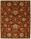 Jaipur Poeme PM11 Marseille Red Oxide/Tan Closeout Area Rug