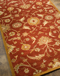 Jaipur Poeme PM19 Cannes Coral/Dark Amber Gold Closeout Area Rug