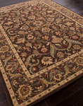 Jaipur Poeme PM39 Gascony Seal Brown & Thyme Closeout Area Rug