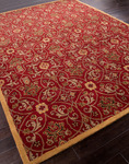 Jaipur Poeme PM52 Calais Red/Red Closeout Area Rug - Fall 2013