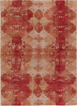 Jaipur Project Error PRE08 Khaki Pumice Stone & Brick Red Closeout Area Rug