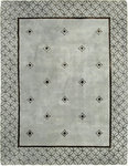 Bashian Greenwich R129 HG203 Ratna with Art Silk Light Blue Closeout Area Rug