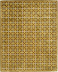 Bashian Greenwich R129 HG214 Ratna with Art Silk Camel Closeout Area Rug