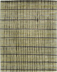 Bashian Greenwich R129 HG224 Ratna with Art Silk Grey Closeout Area Rug