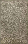 Bashian Greenwich R129 HG251 Ratna with Art Silk Grey Closeout Area Rug