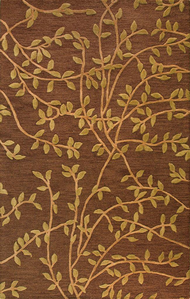 Bashian Verona R130 Lc107 Rahni Chocolate Closeout Area Rug