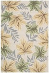 Nourison Rainforest RAI04 BGE Beige Closeout Area Rug