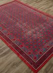 Jaipur Revolution REL04 Concord American Beauty & Ocean Depth Area Rug
