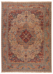Jaipur Revolution REL05 Celestial Antique White & Lobster Bisque Area Rug
