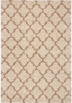 Karastan Prima Shag RG951-2412 Temara Lattice Brown Area Rug