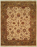 Allara Royster OY-1002 Soft Camel/Pale Green Closeout Area Rug