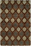 Allara Dharma DH-1013 Brown Area Rug