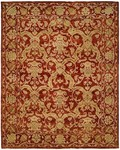 Allara Essential ES-1005 Red Area Rug