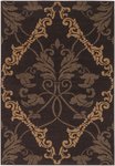Surya Rustica RS-615 Brown Closeout Area Rug