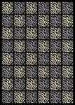Nourison Home & Garden RS013 BLK Black Closeout Area Rug
