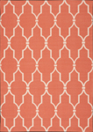 Nourison Home & Garden RS087 ORG Orange Area Rug