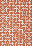 Nourison Home & Garden RS090 RUS Rust Closeout Area Rug