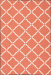 Nourison Home & Garden RS091 ORG Orange Closeout Area Rug