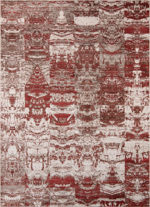 Momeni Rustic Romance RR-01 Red Closeout Area Rug
