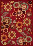 Loloi Riviera RV-07 Red Closeout Area Rug