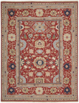 Nourison Nourmak S165 RED Red Closeout Area Rug