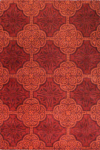 Bashian Chelsea S185 ST225 Red Closeout Area Rug