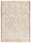 Jaipur Safi SAF02 Majorelle Cloud Cream & Chocolate Chip Area Rug