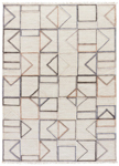 Jaipur Satellite SAT06 Circuit Turtledove & Steel Gray Area Rug