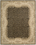 Nourison Chateau Provence SB11 BRN Brown Closeout Area Rug