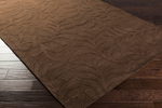 Surya Candice Olson Sculpture SCU-7528 Chocolate Brown Closeout Area Rug - Fall 2013