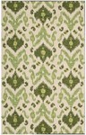 Nourison Siam SIA01 IVGRN Ivory/Green Closeout Area Rug