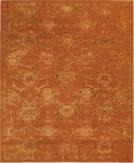Nourison Silk Infusion SIF01 COP Copper Closeout Area Rug