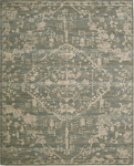 Nourison Silk Elements SKE30 AZU Azure Area Rug