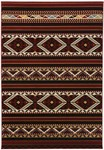 Surya Dick Idol Big Sky SKY-5005 Black/Burgundy Closeout Area Rug - Spring 2012