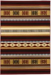 Surya Dick Idol Big Sky SKY-5008 Burgundy/Black Closeout Area Rug - Spring 2012