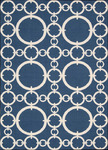 Nourison Waverly Sun N' Shade SND02 NAV Navy Area Rug