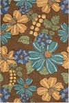 Nourison South Beach SOU04 CHO Chocolate Closeout Area Rug - Spring 2016