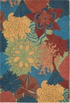 Nourison South Beach SOU07 DPSEA Deep Sea Closeout Area Rug - Spring 2016