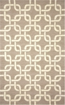 Trans-Ocean Liora Manne Spello 2018/12 Chains Natural Closeout Area Rug