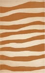 Trans-Ocean Liora Manne Spello 2116/17 Wavey Stripe Orange Closeout Area Rug