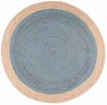 Jaipur Spiral SPI03 Chipowa Smoke Blue & Almond Buff Area Rug