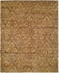 Allara Dharma DH-1006 Golden Brown Area Rug