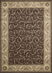 Nourison Somerset ST02 BRN Brown Area Rug