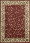 Nourison Somerset ST02 RED Red Area Rug
