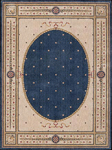 Nourison Somerset ST06 NAV Navy Closeout Area Rug