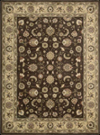 Nourison Somerset ST62 BRN Brown Closeout Area Rug