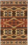 Surya Dick Idol Sante Fe STF-4003 Navy/Red Closeout Area Rug - Spring 2012